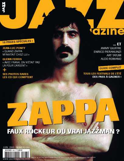 Jazz Magazine June 08 FZ Special