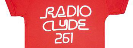 radio clyde t-shirt